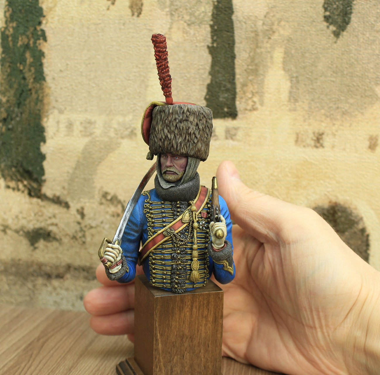Фигурки: Гусар элитной роты 7-го полка, фото #6