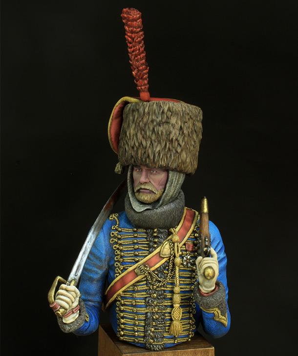 Фигурки: Гусар элитной роты 7-го полка