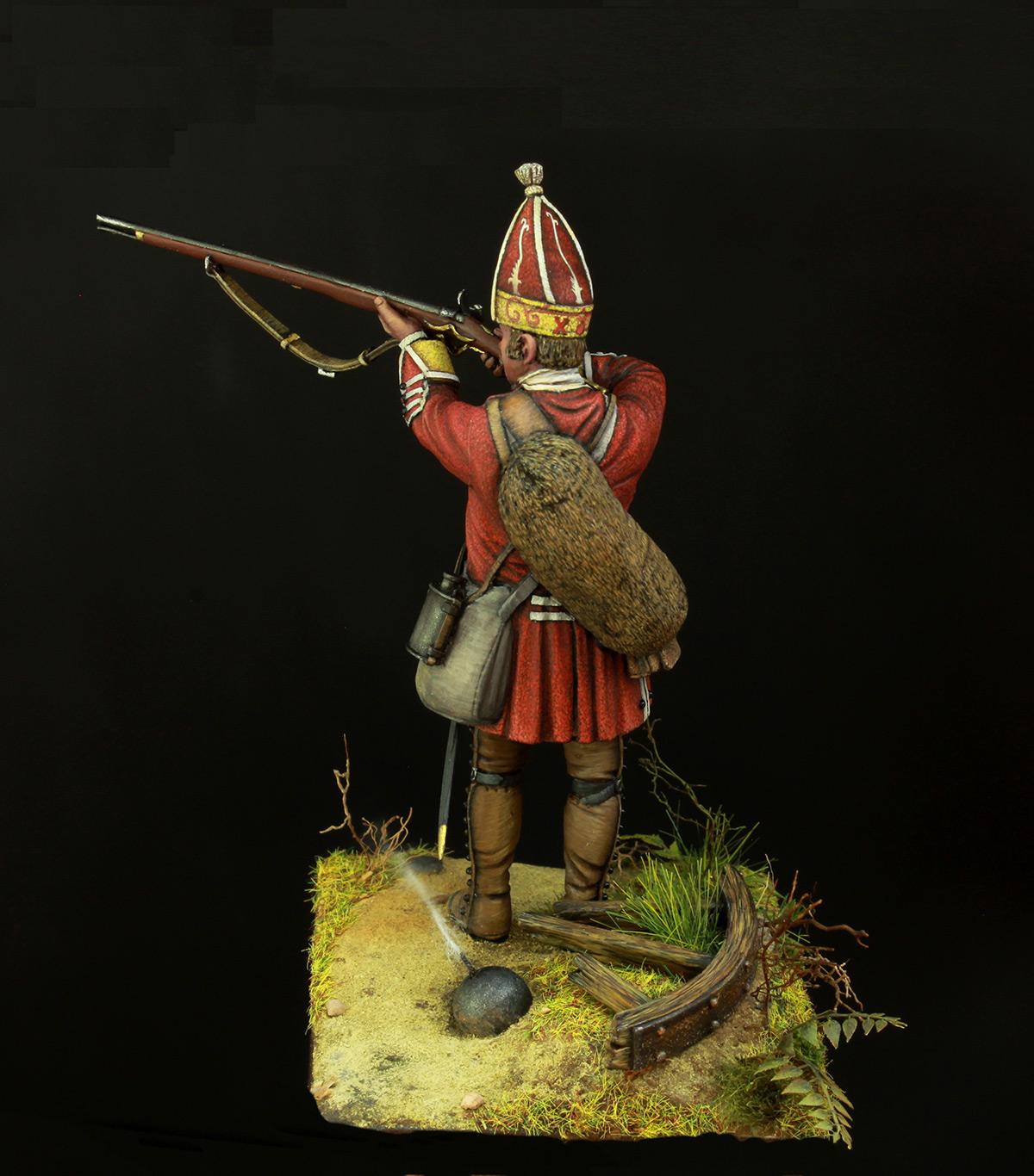 Фигурки: Британский гренадер, XVIII в., фото #4