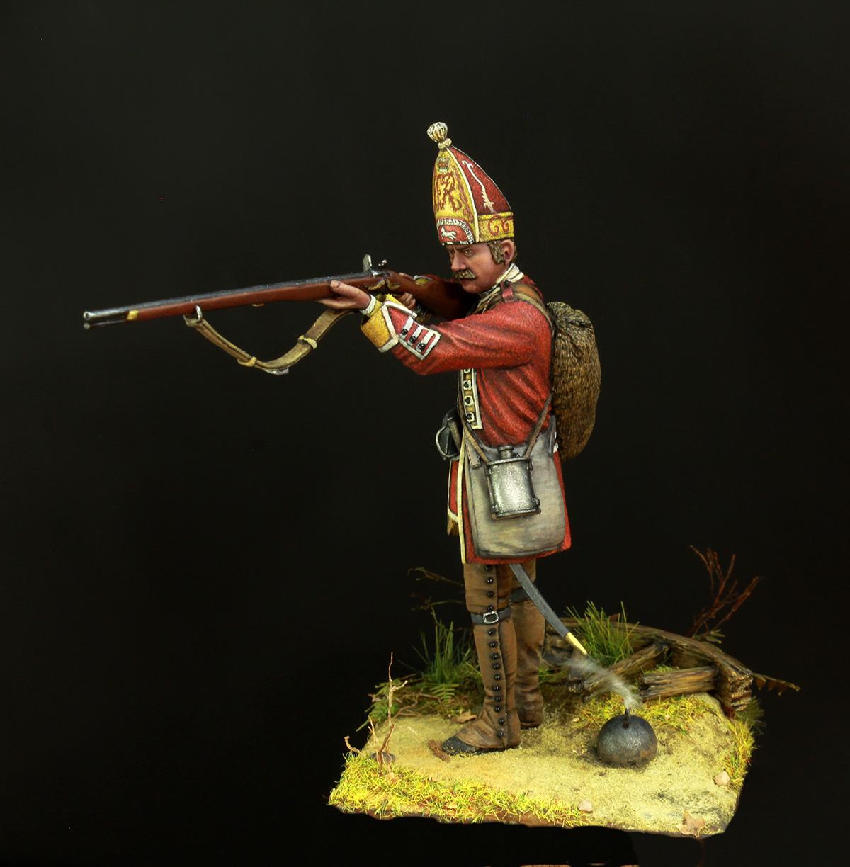 Фигурки: Британский гренадер, XVIII в., фото #5