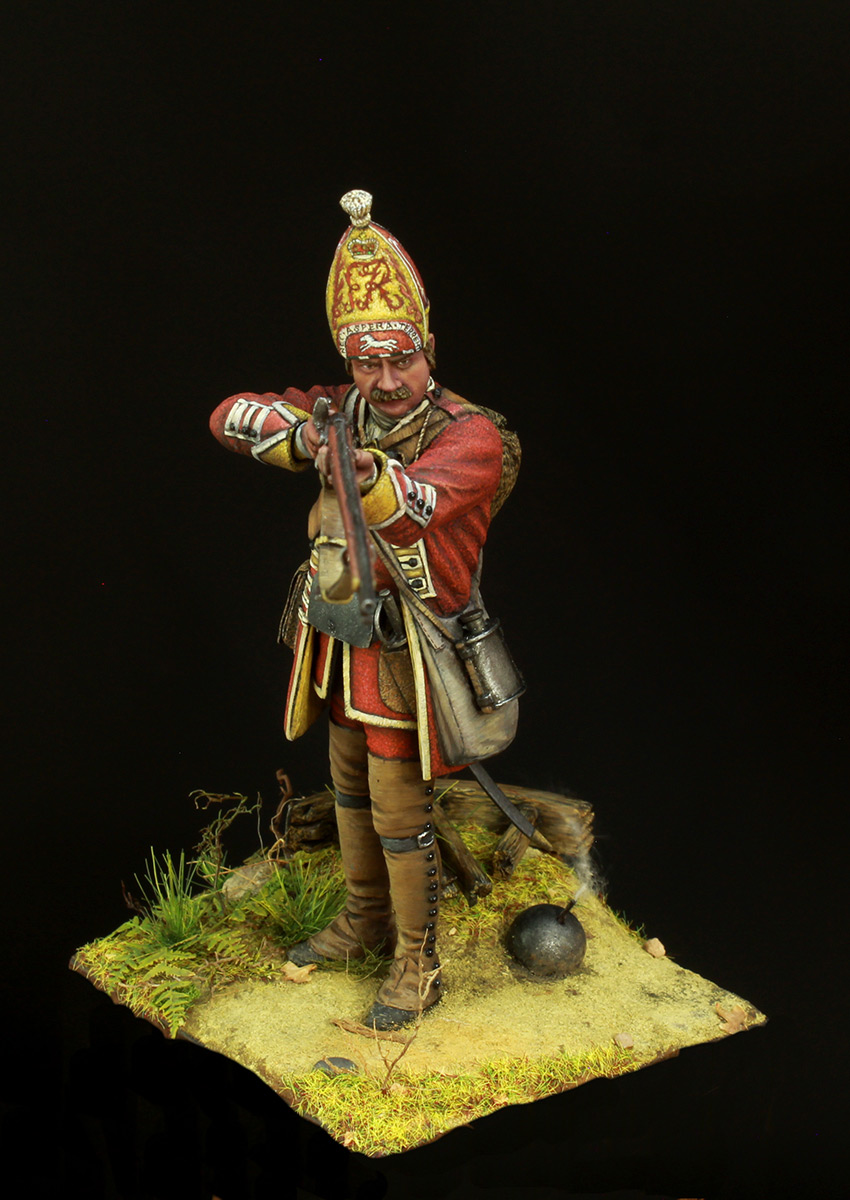 Фигурки: Британский гренадер, XVIII в., фото #6