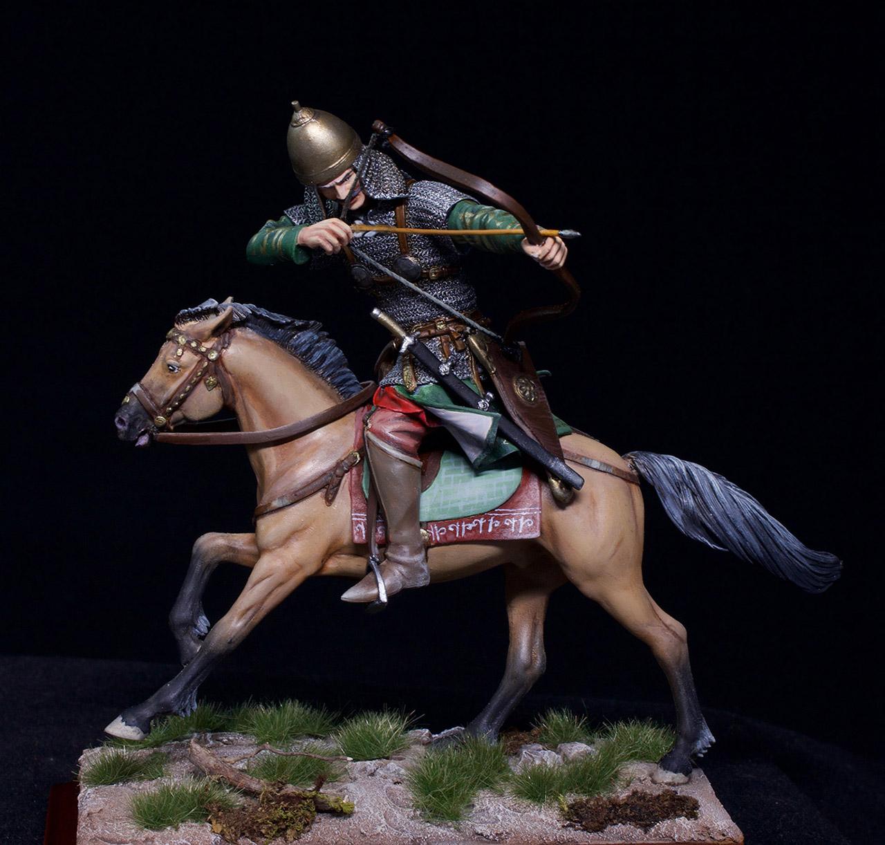 Фигурки: Половецкий конный лучник, XIII век., фото #10