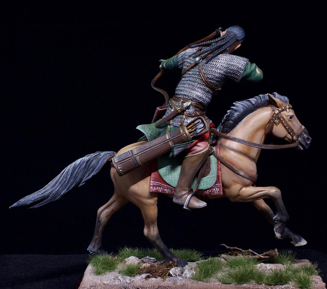 Фигурки: Половецкий конный лучник, XIII век., фото #11