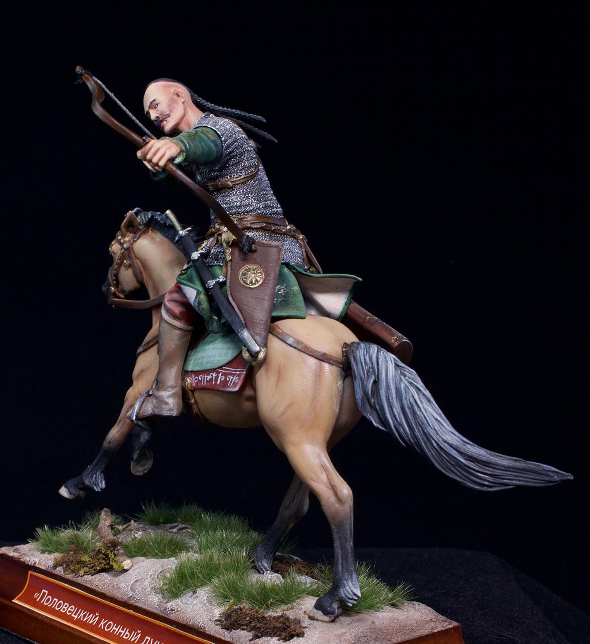Фигурки: Половецкий конный лучник, XIII век., фото #13