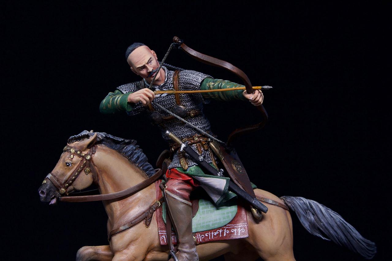 Фигурки: Половецкий конный лучник, XIII век., фото #15