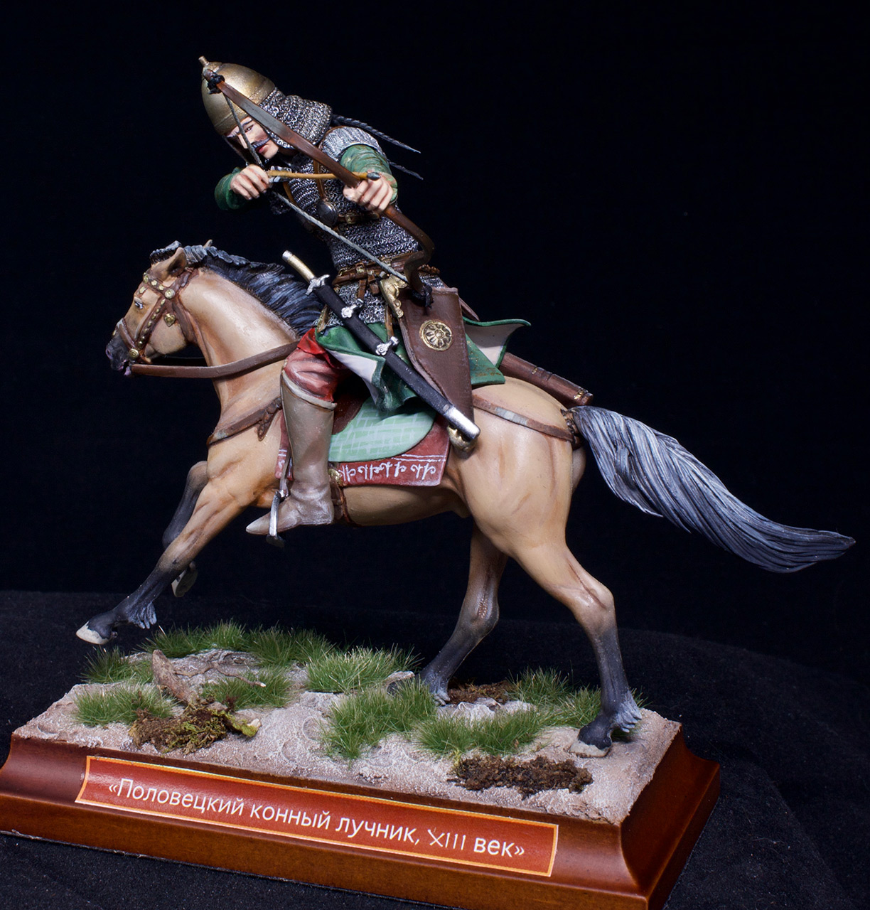 Фигурки: Половецкий конный лучник, XIII век., фото #2