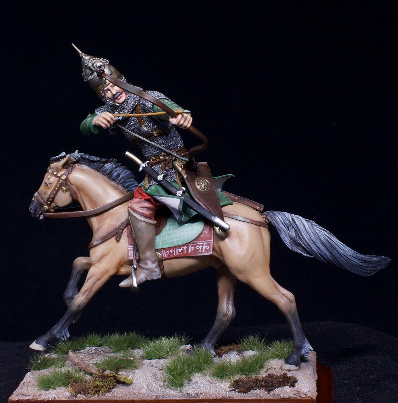 Фигурки: Половецкий конный лучник, XIII век., фото #3