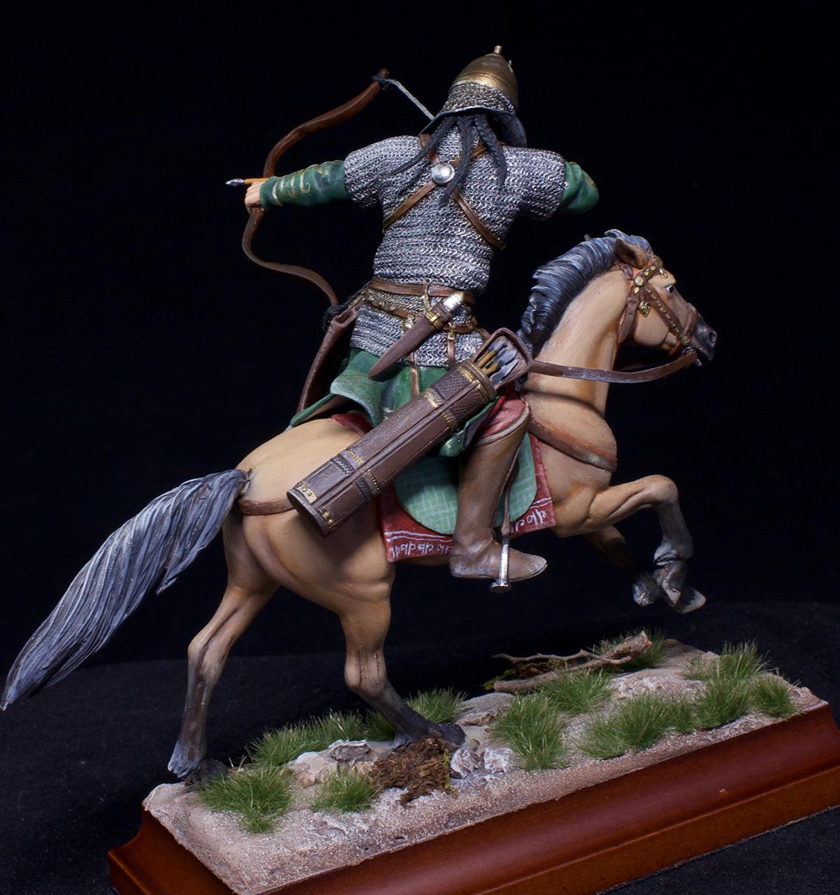Фигурки: Половецкий конный лучник, XIII век., фото #4