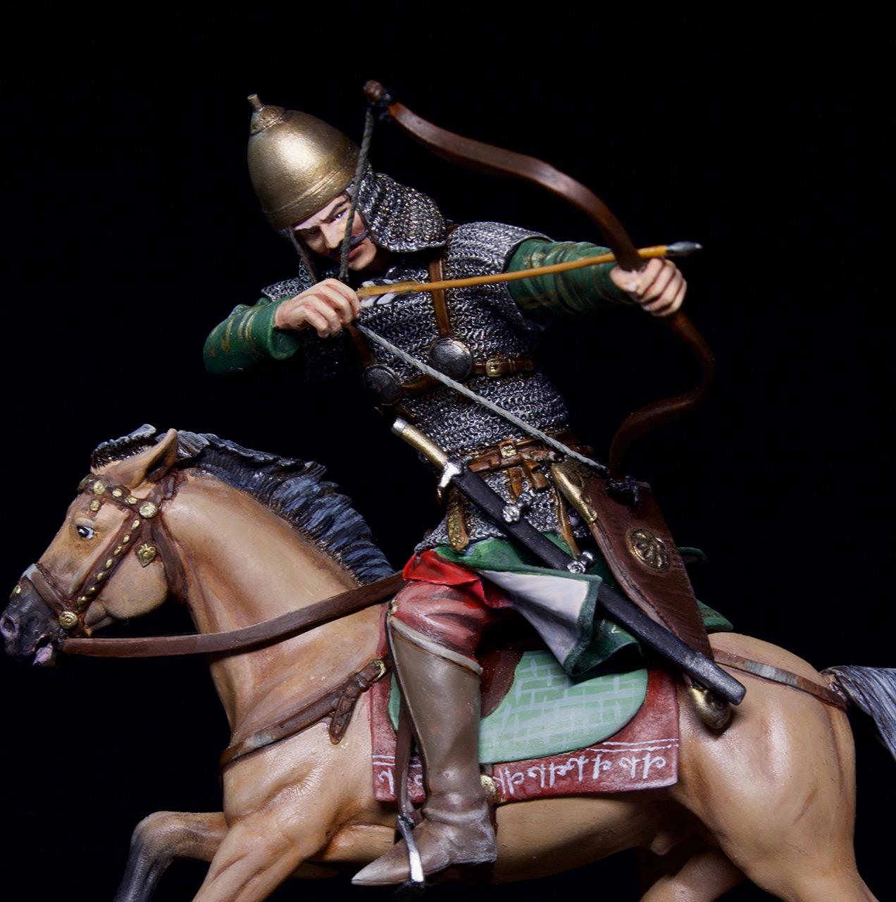 Фигурки: Половецкий конный лучник, XIII век., фото #7