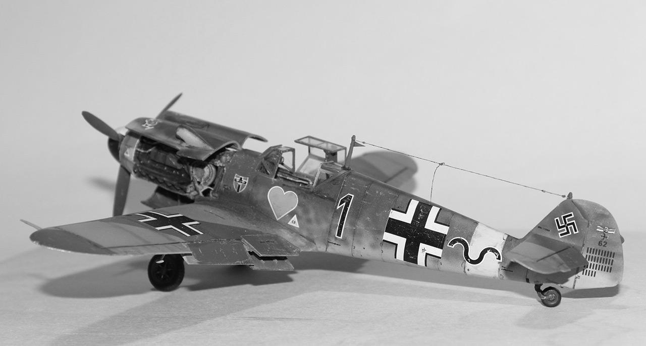 Диорамы и виньетки:  Обслуживание Me-109F-4 , фото #13