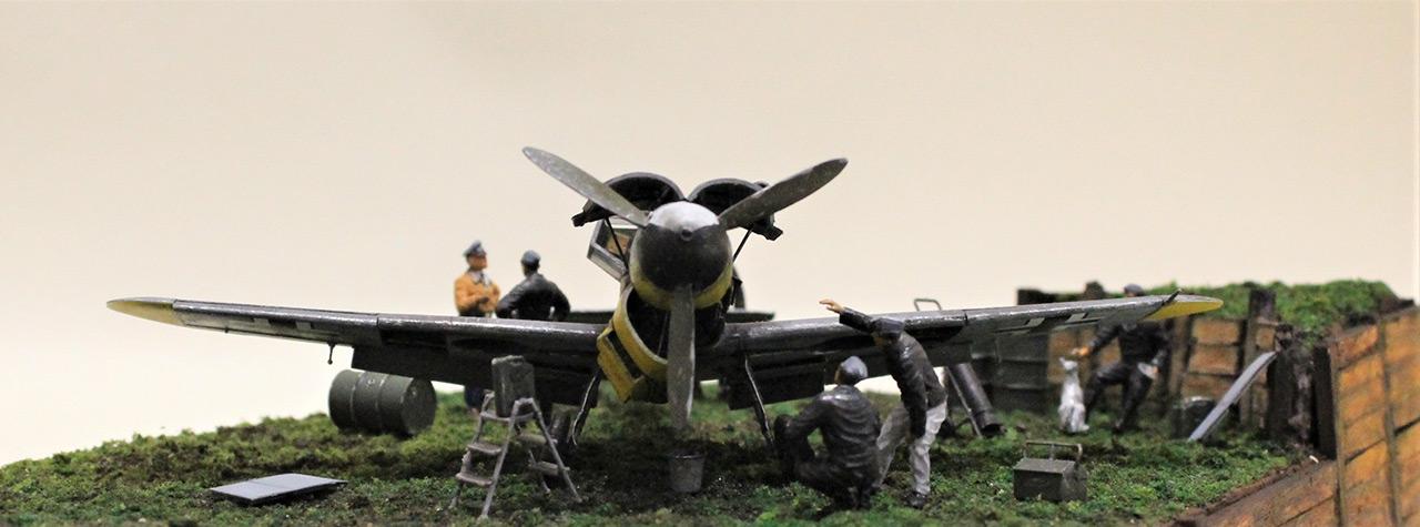Диорамы и виньетки:  Обслуживание Me-109F-4 , фото #6