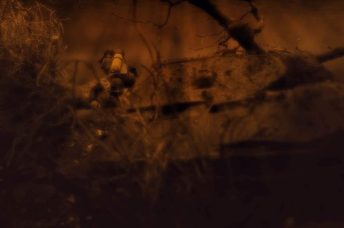 Диорамы и виньетки: Т-34/76 СТЗ. Возрождение героя, фото #17