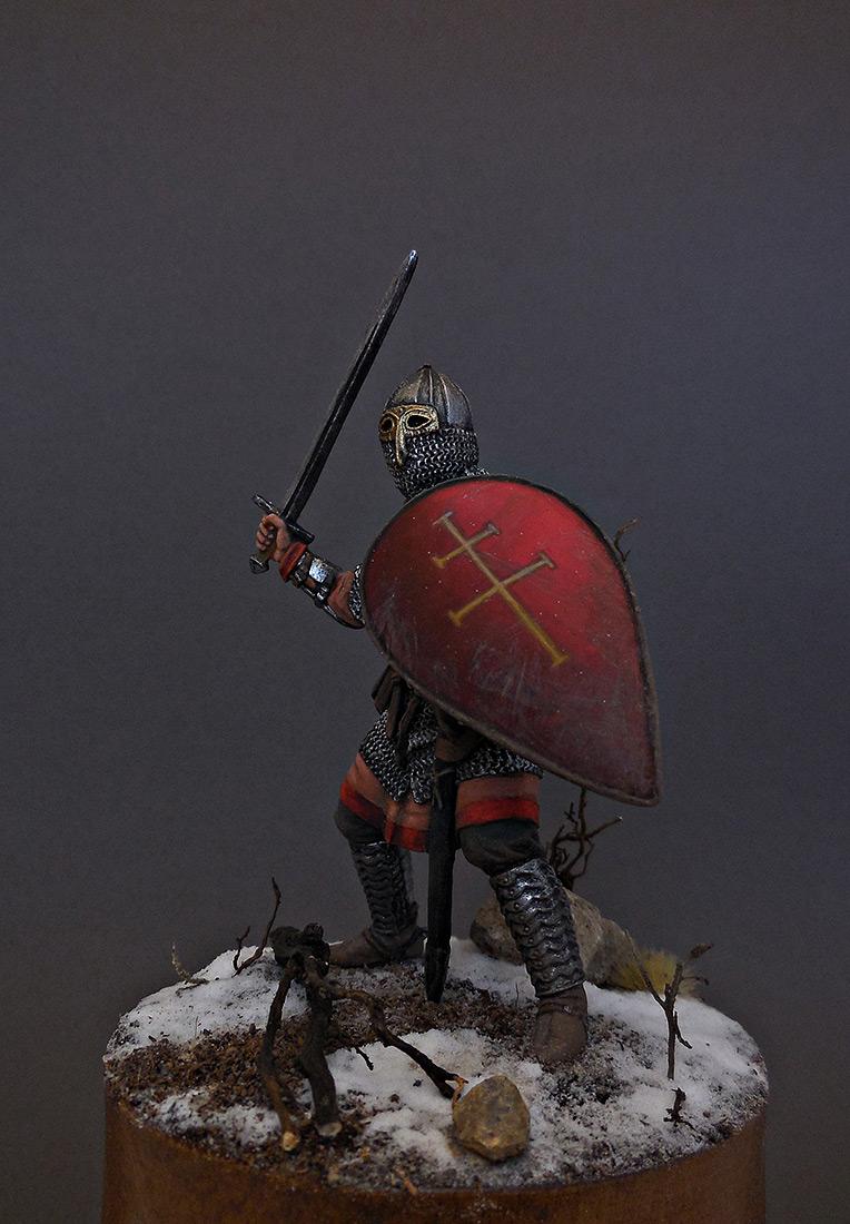 Фигурки: Русский воин-дружинник, 13 век, фото #1