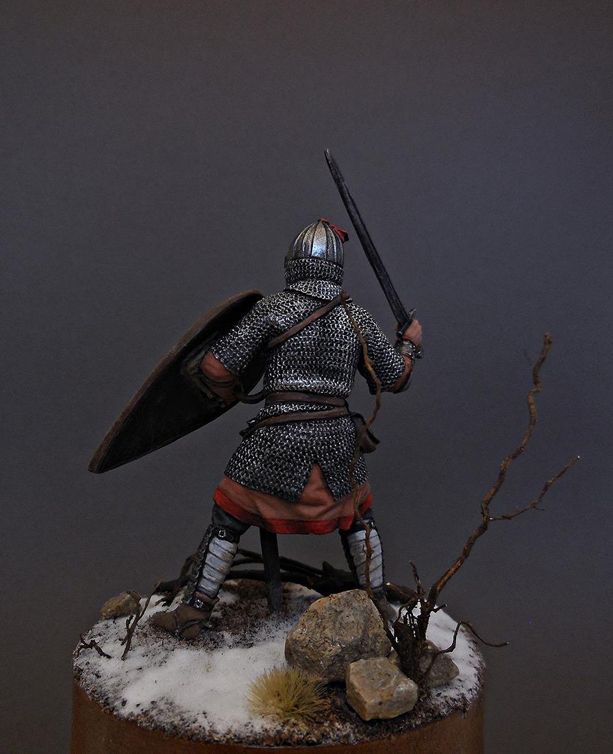 Фигурки: Русский воин-дружинник, 13 век, фото #2