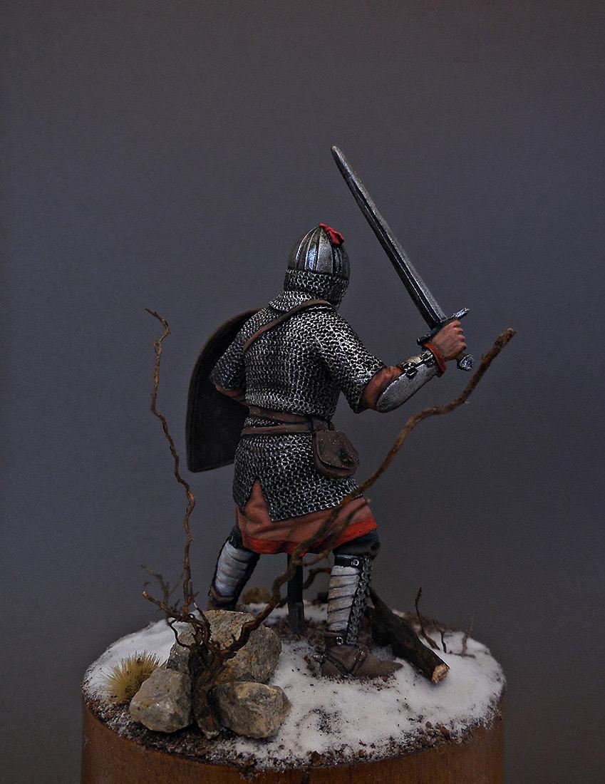 Фигурки: Русский воин-дружинник, 13 век, фото #3