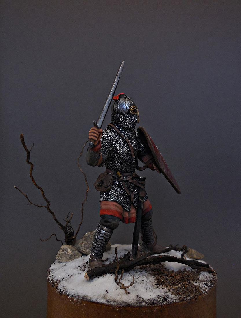 Фигурки: Русский воин-дружинник, 13 век, фото #4