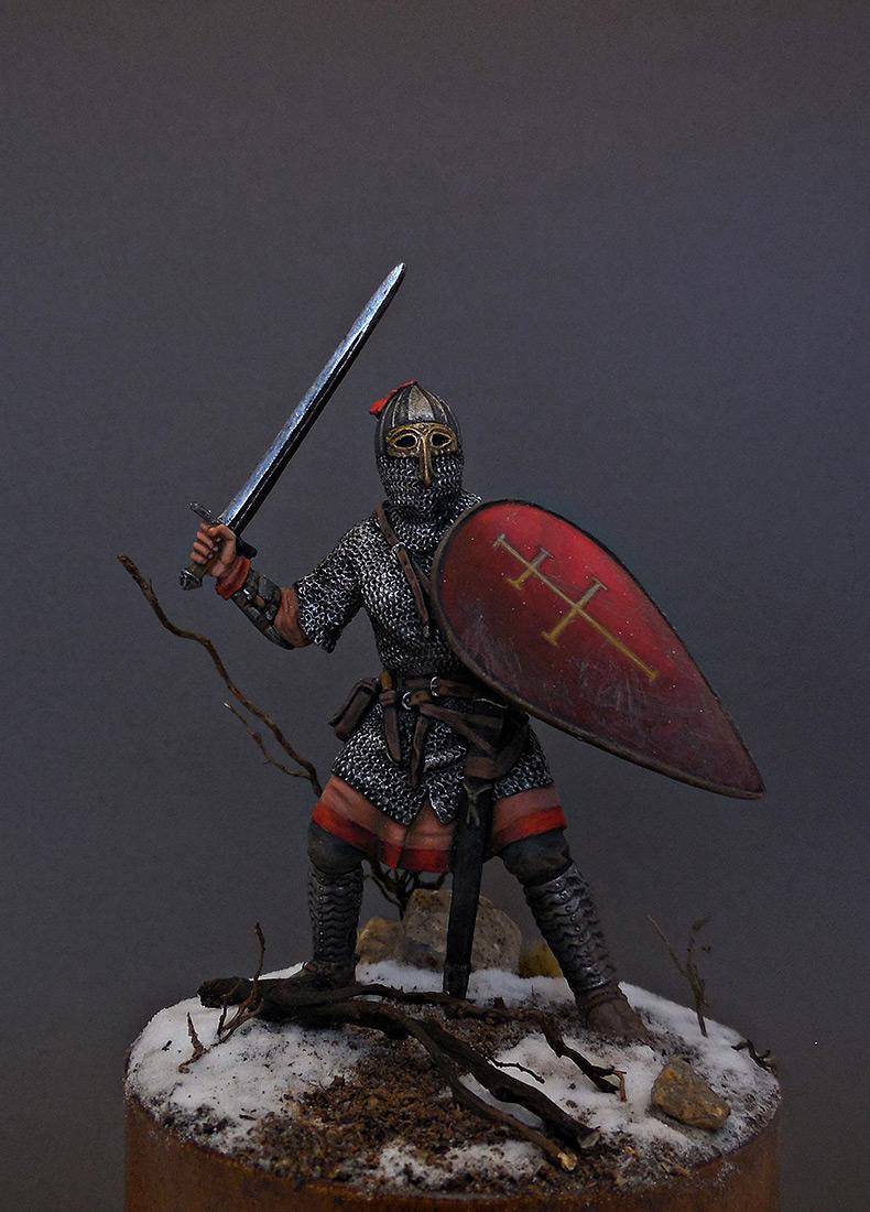 Фигурки: Русский воин-дружинник, 13 век, фото #5