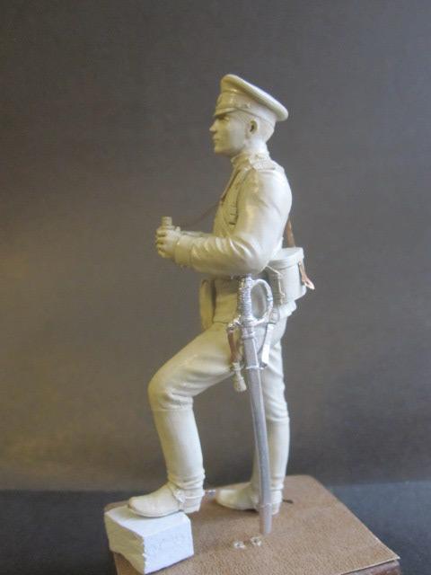 Скульптура: Офицер конной артиллерии, 1914 г., фото #2