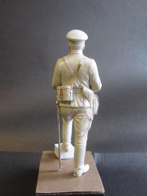 Скульптура: Офицер конной артиллерии, 1914 г., фото #3