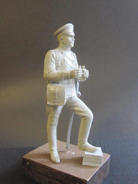 Скульптура: Офицер конной артиллерии, 1914 г., фото #4