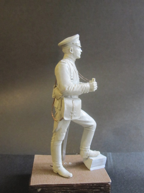 Скульптура: Офицер конной артиллерии, 1914 г., фото #5