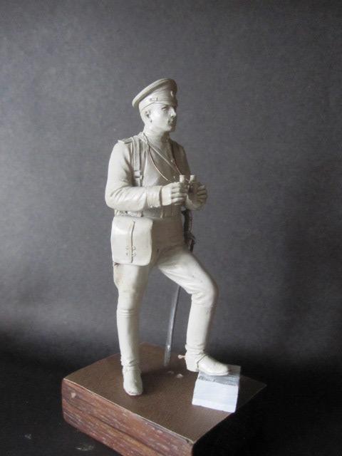 Скульптура: Офицер конной артиллерии, 1914 г., фото #6