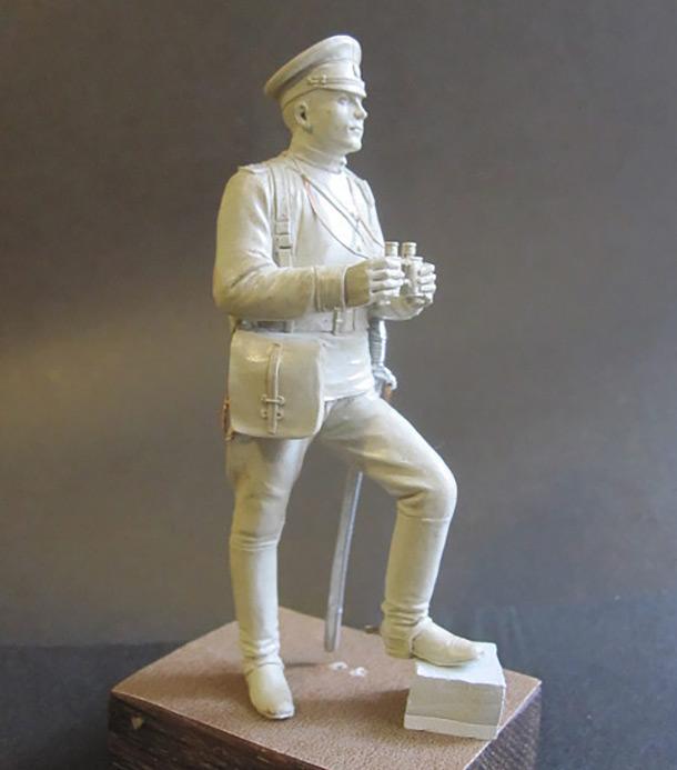 Скульптура: Офицер конной артиллерии, 1914 г.