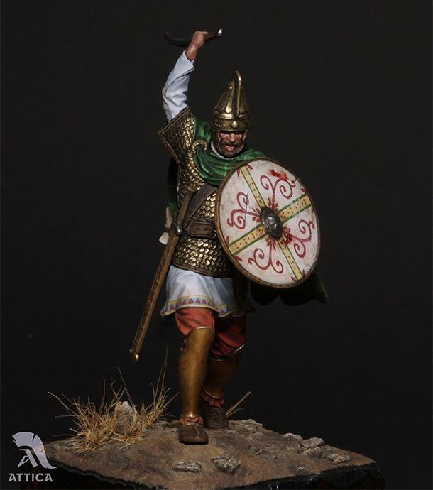 Фигурки: Дакийский воин