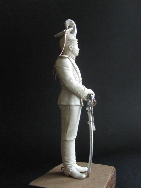 Скульптура: Гвардейский улан, 1900 г., фото #6