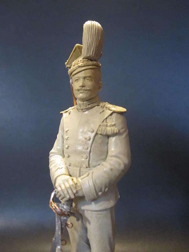 Скульптура: Гвардейский улан, 1900 г.