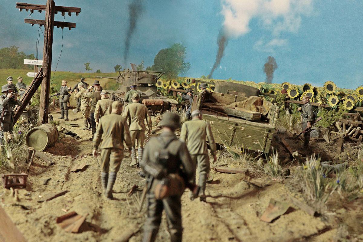 Диорамы и виньетки: 22 июня 1941 г. Без всякого объявления войны..., фото #1