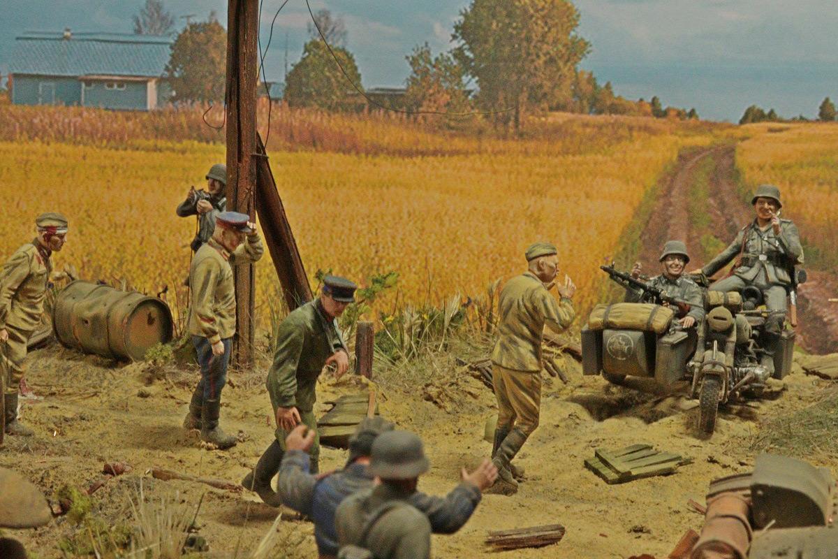 Диорамы и виньетки: 22 июня 1941 г. Без всякого объявления войны..., фото #13