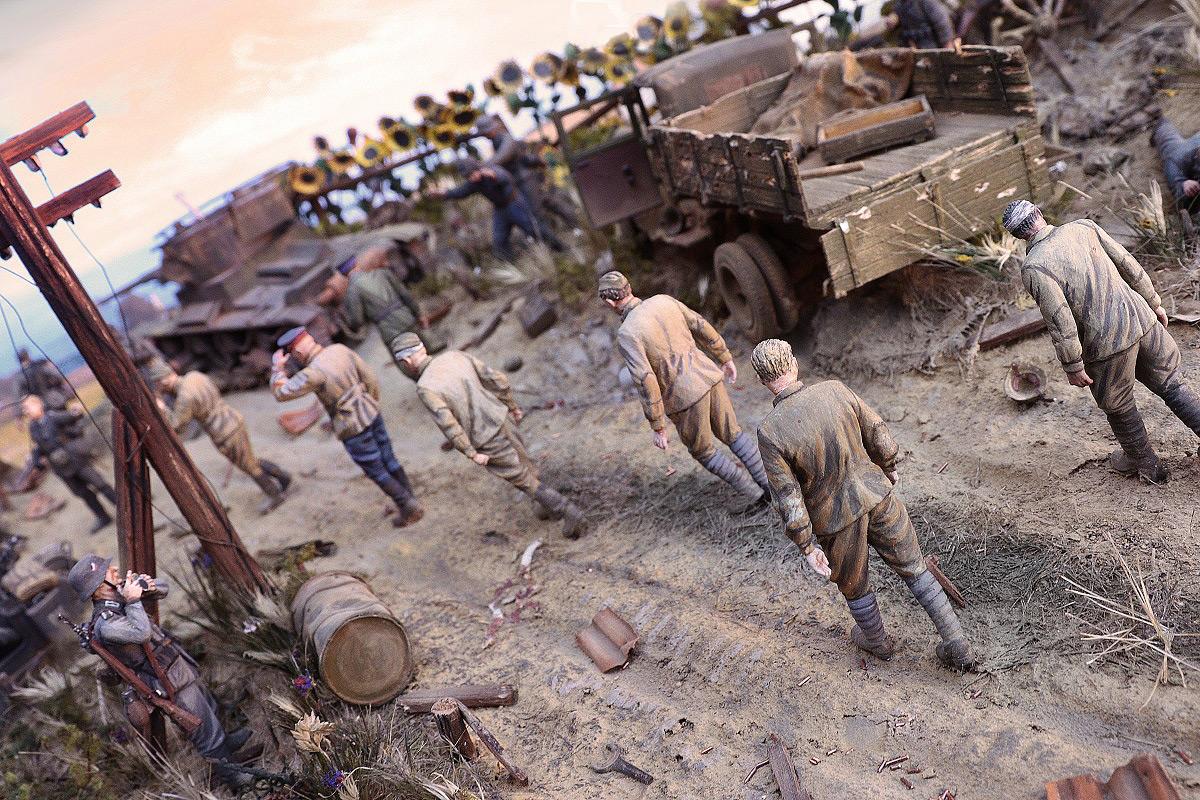 Диорамы и виньетки: 22 июня 1941 г. Без всякого объявления войны..., фото #15