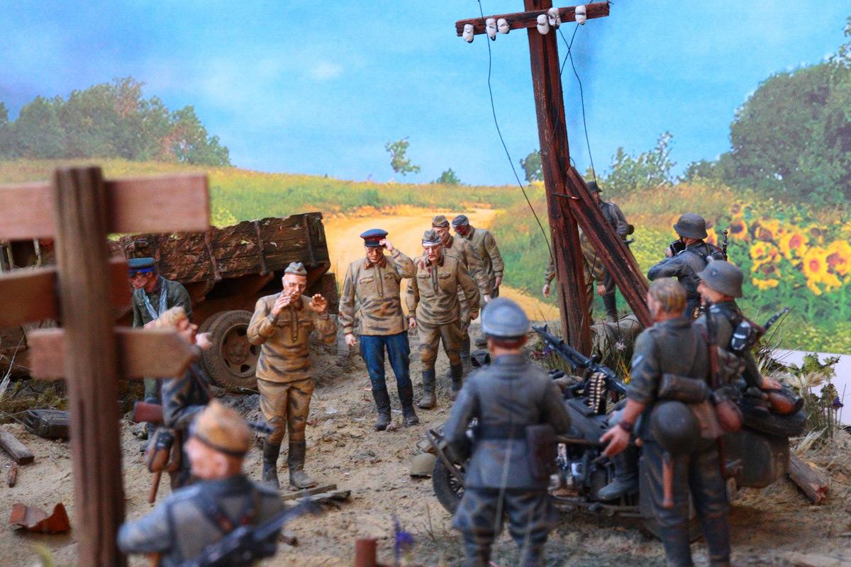 Диорамы и виньетки: 22 июня 1941 г. Без всякого объявления войны..., фото #21