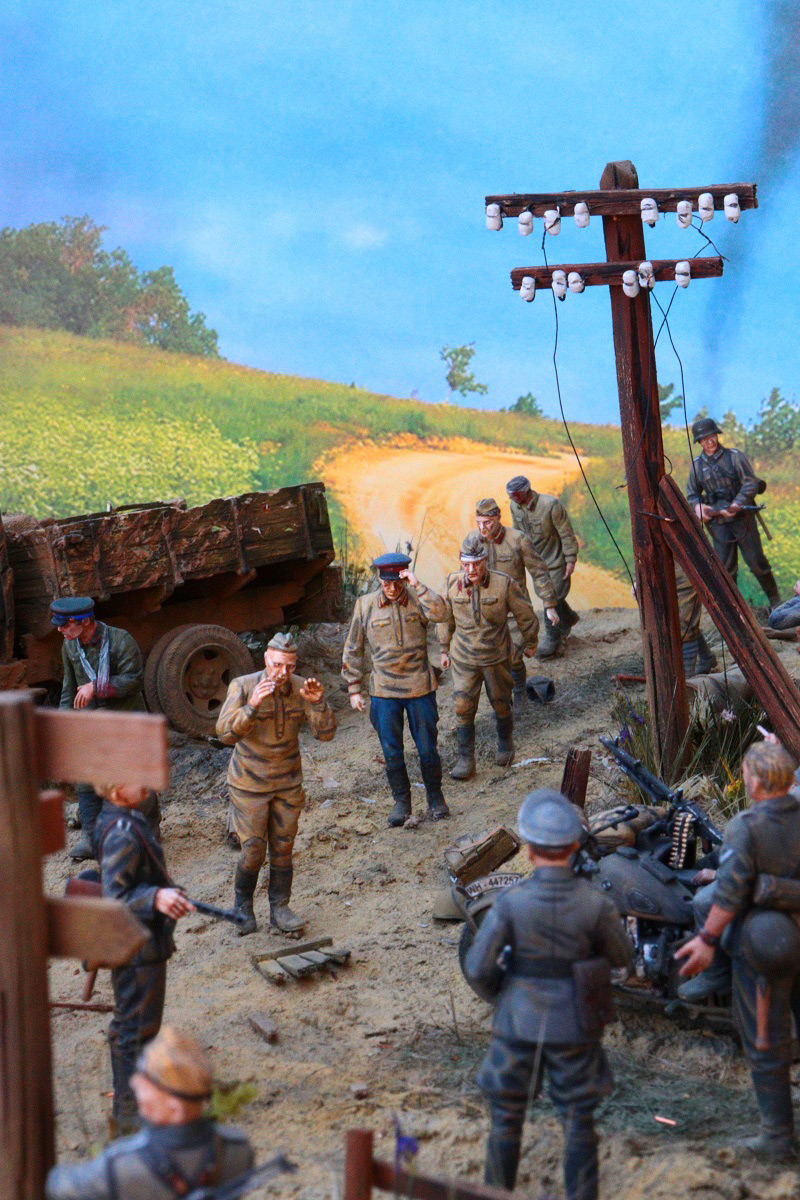 Диорамы и виньетки: 22 июня 1941 г. Без всякого объявления войны..., фото #23