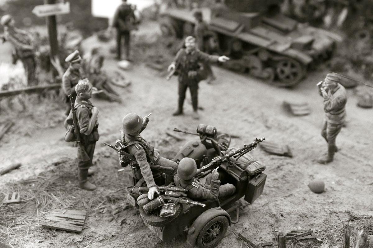 Диорамы и виньетки: 22 июня 1941 г. Без всякого объявления войны..., фото #26
