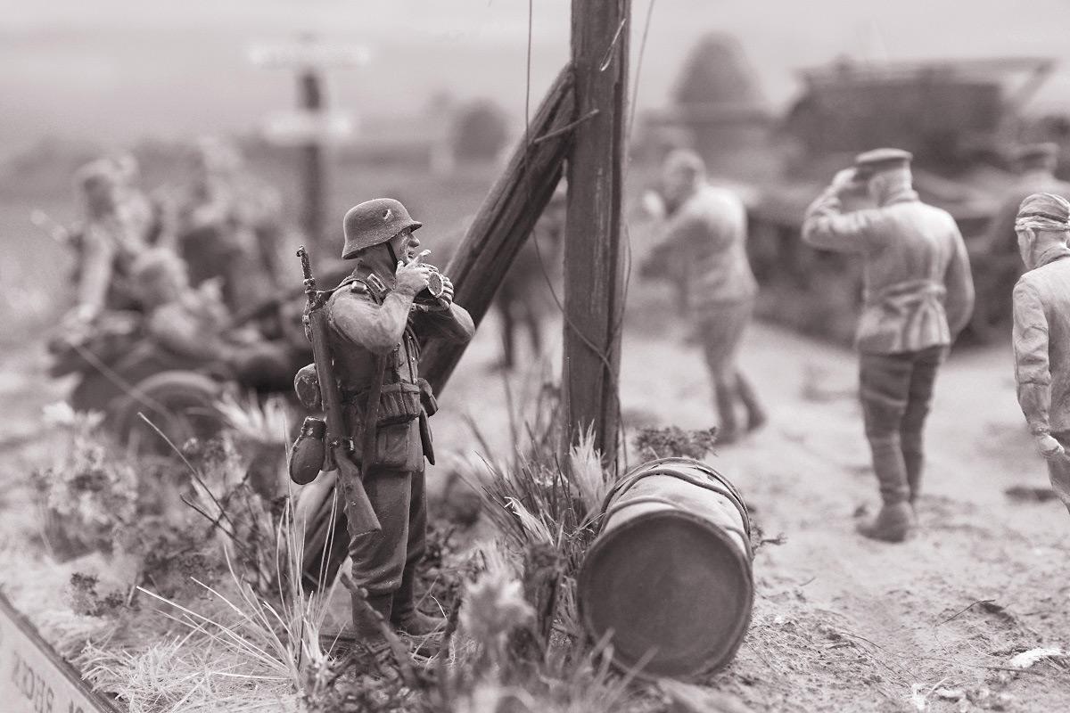 Диорамы и виньетки: 22 июня 1941 г. Без всякого объявления войны..., фото #28