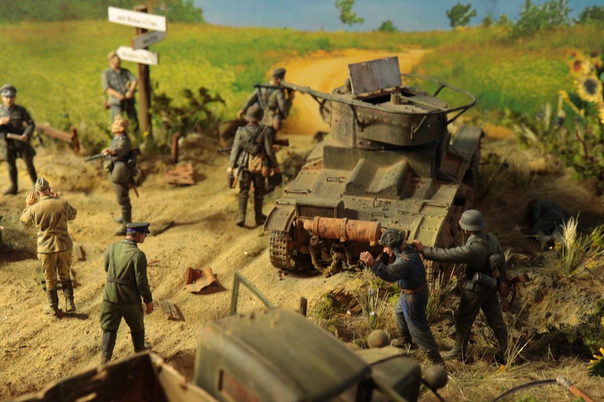 Диорамы и виньетки: 22 июня 1941 г. Без всякого объявления войны..., фото #3