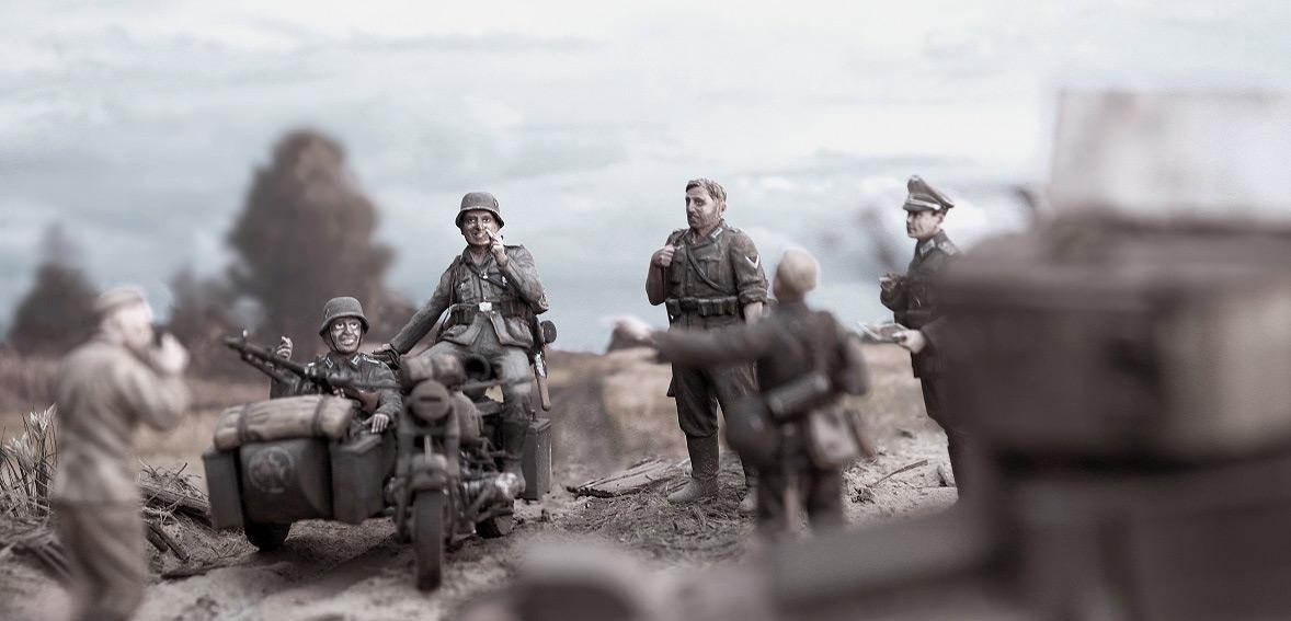 Диорамы и виньетки: 22 июня 1941 г. Без всякого объявления войны..., фото #30