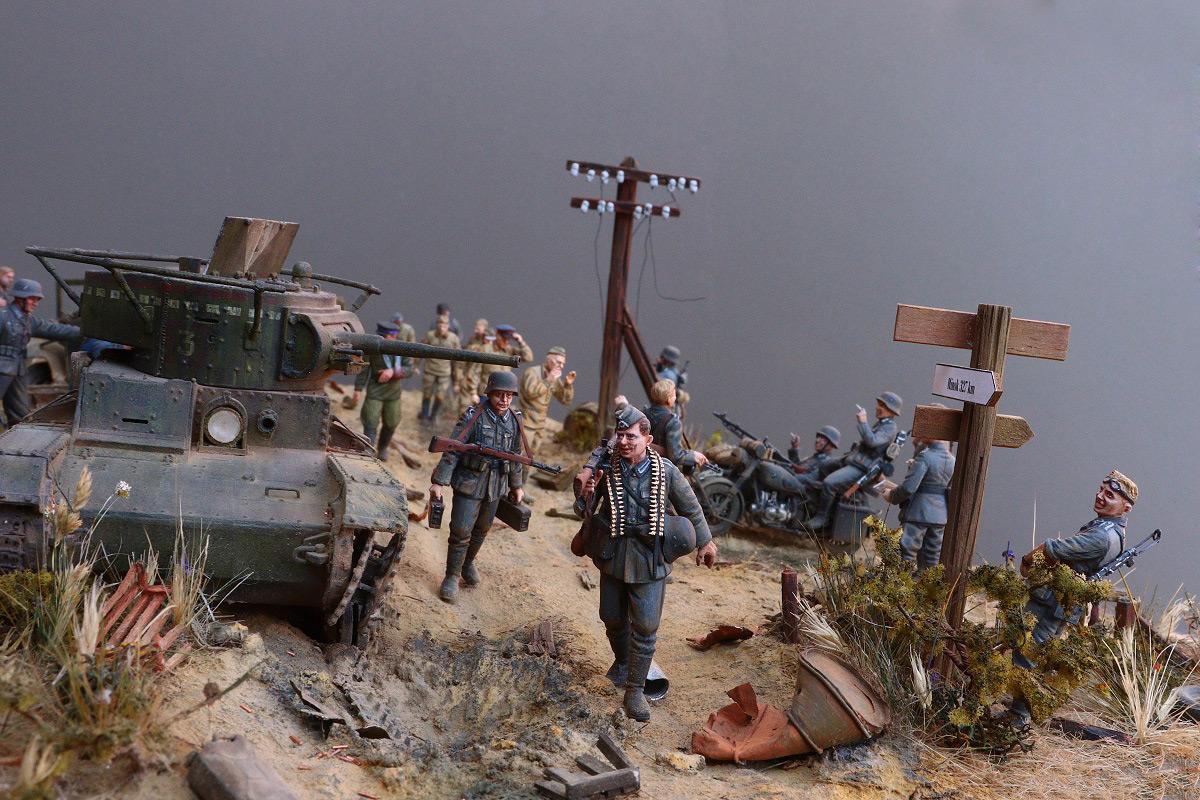 Диорамы и виньетки: 22 июня 1941 г. Без всякого объявления войны..., фото #36