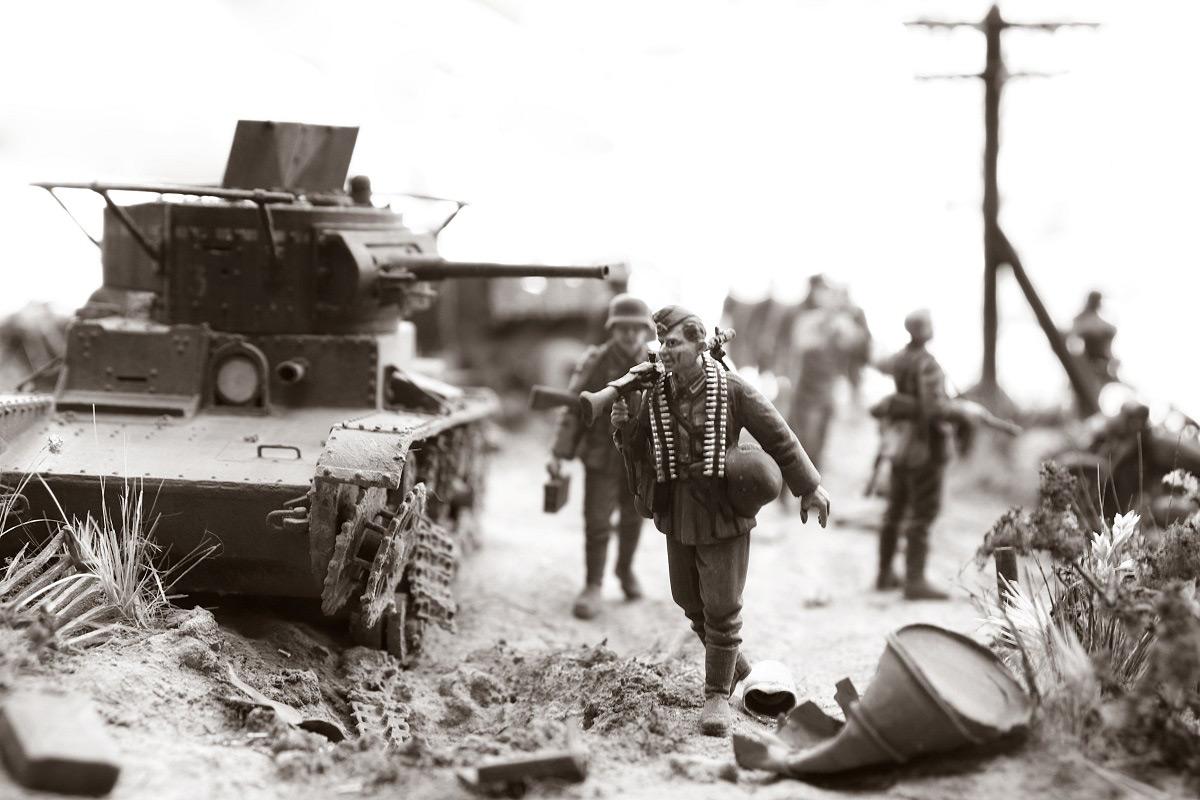 Диорамы и виньетки: 22 июня 1941 г. Без всякого объявления войны..., фото #38