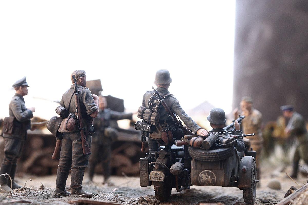 Диорамы и виньетки: 22 июня 1941 г. Без всякого объявления войны..., фото #40