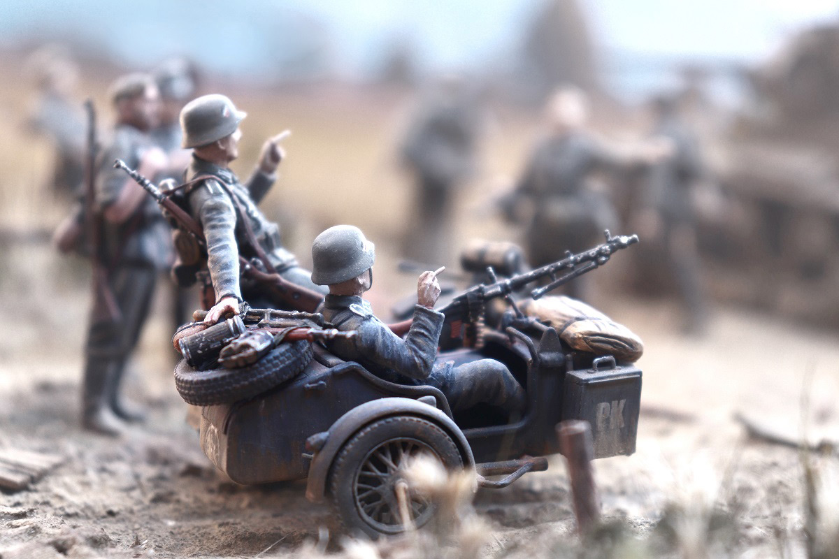 Диорамы и виньетки: 22 июня 1941 г. Без всякого объявления войны..., фото #42