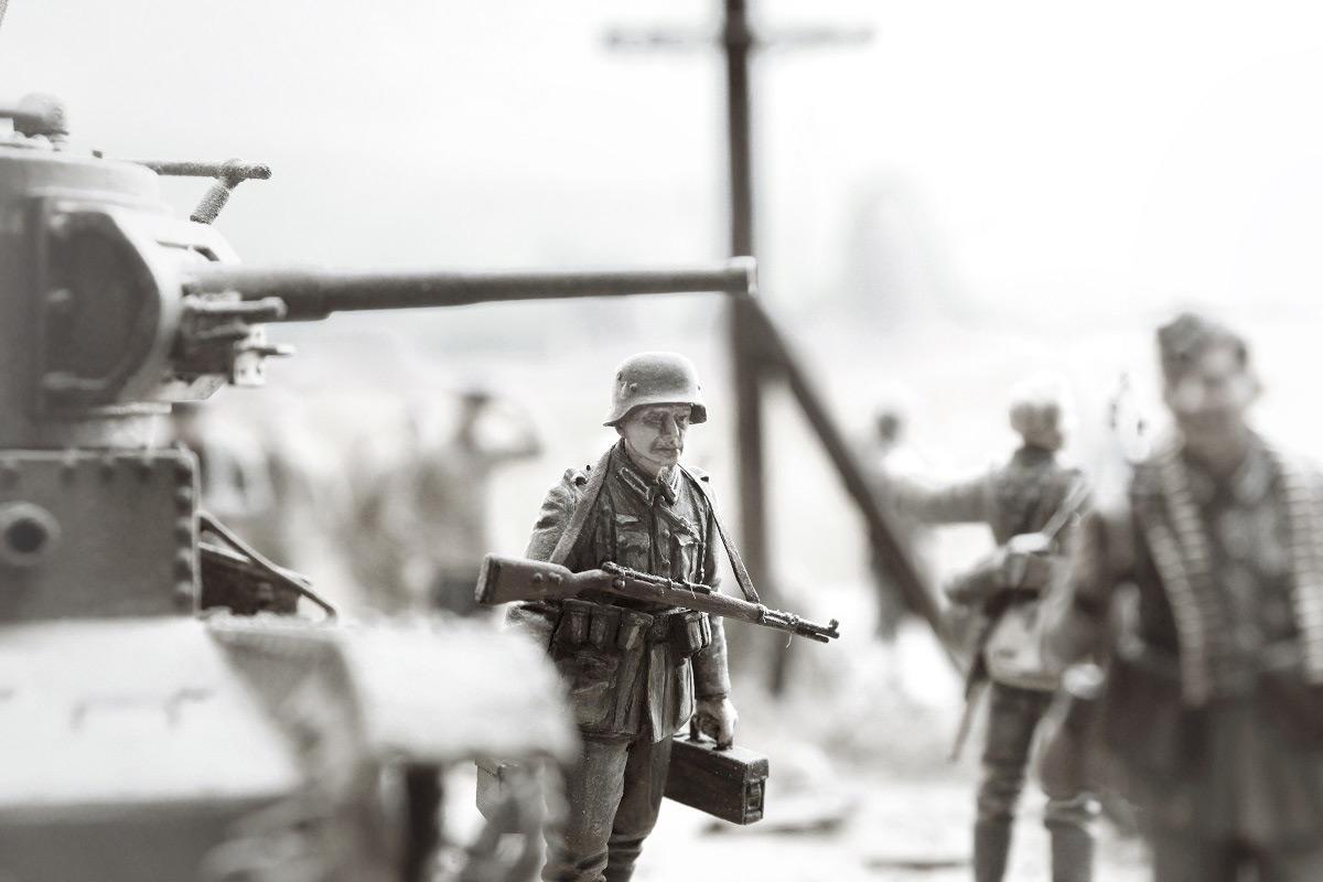 Диорамы и виньетки: 22 июня 1941 г. Без всякого объявления войны..., фото #43