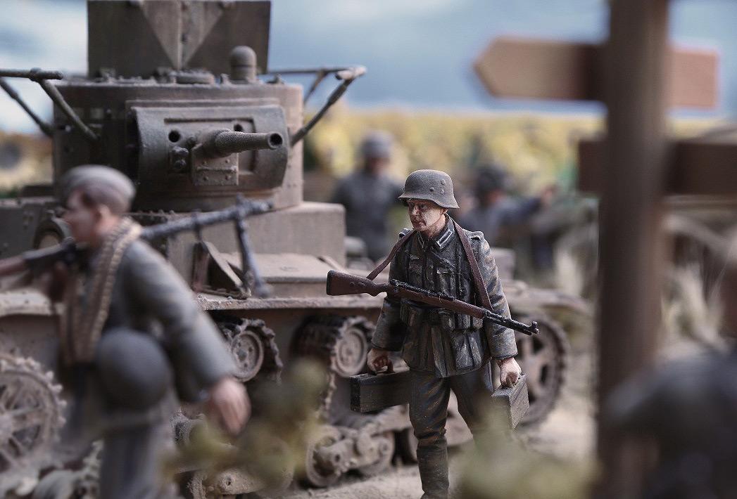 Диорамы и виньетки: 22 июня 1941 г. Без всякого объявления войны..., фото #48