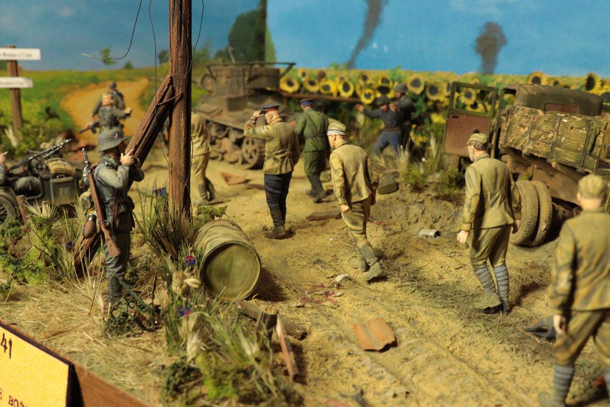 Диорамы и виньетки: 22 июня 1941 г. Без всякого объявления войны..., фото #5