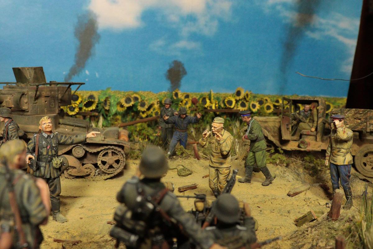 Диорамы и виньетки: 22 июня 1941 г. Без всякого объявления войны..., фото #6