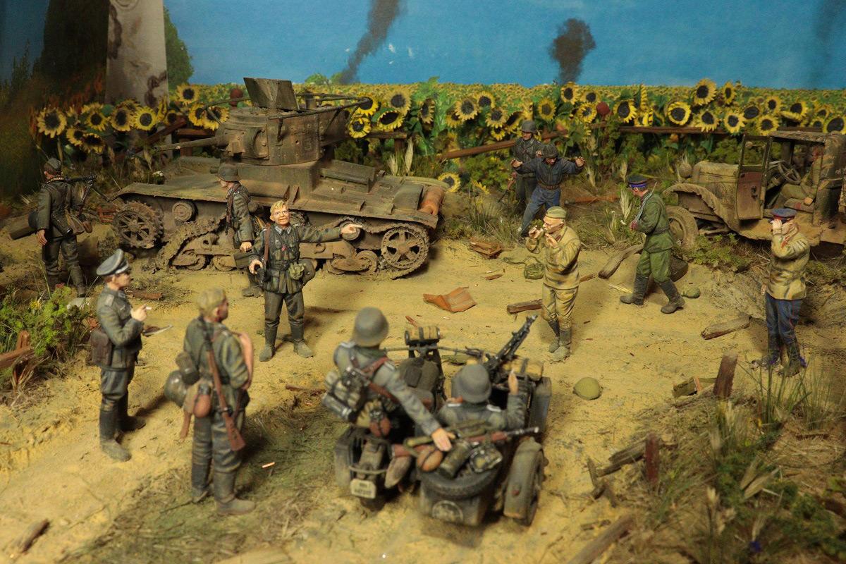 Диорамы и виньетки: 22 июня 1941 г. Без всякого объявления войны..., фото #7