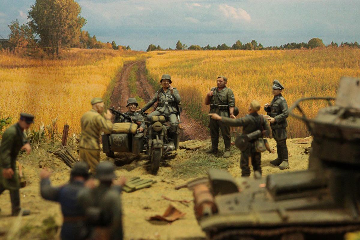 Диорамы и виньетки: 22 июня 1941 г. Без всякого объявления войны..., фото #8