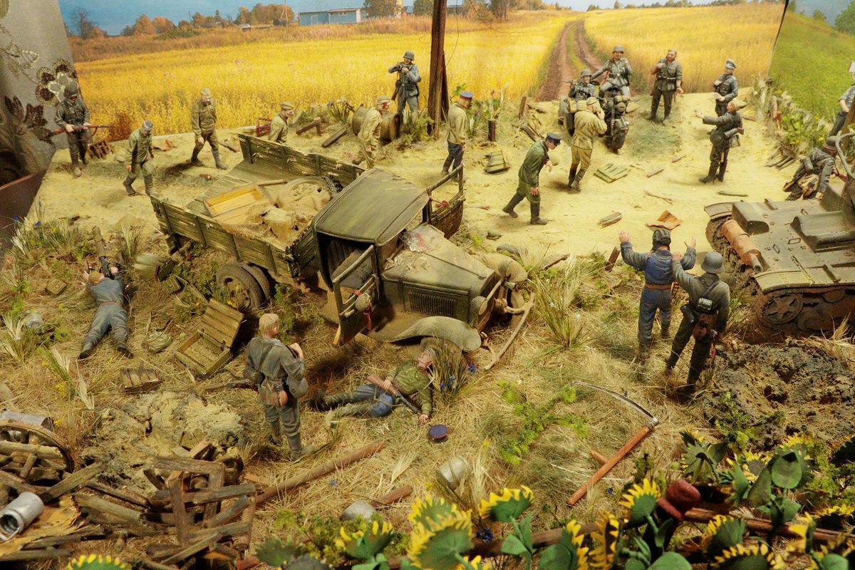 Диорамы и виньетки: 22 июня 1941 г. Без всякого объявления войны..., фото #9